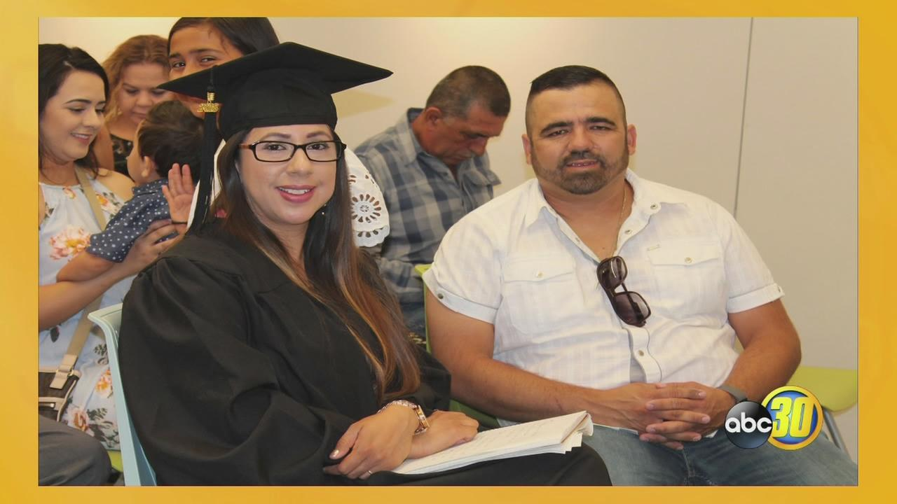 LATINO LIFE: First Grad of Fresno County Public Librarys Online High School