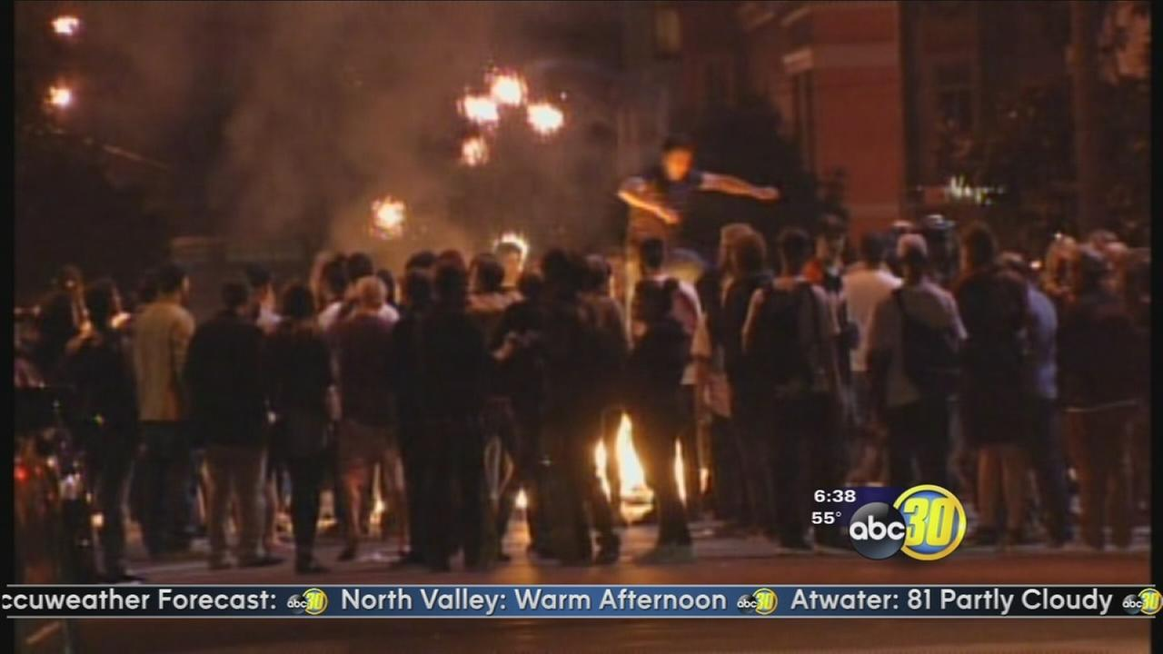 Two people shot, fires reported during Giants victory celebrations