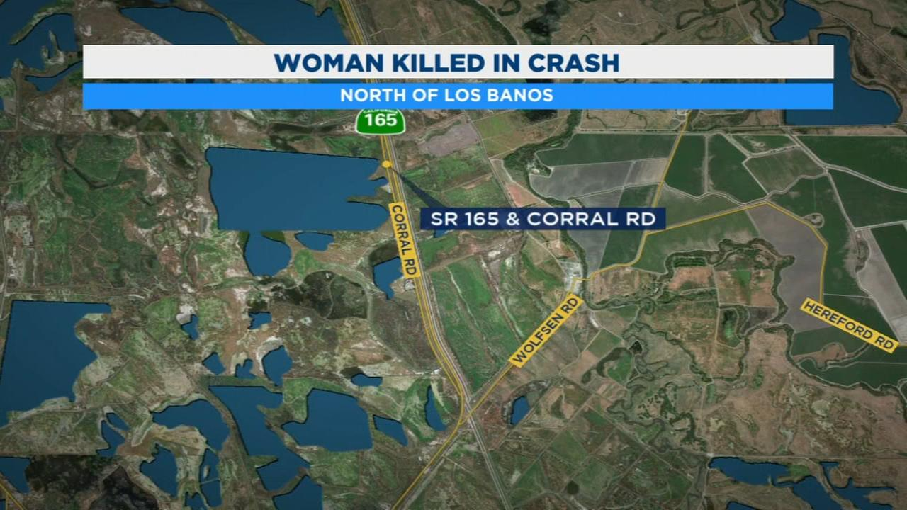 CHP officers investigating deadly crash north of Los Banos