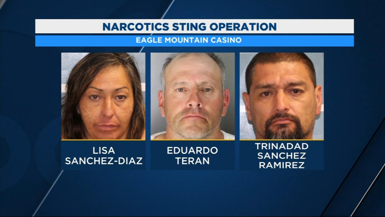 Seven people arrested for selling meth at Eagle Mountain Casino