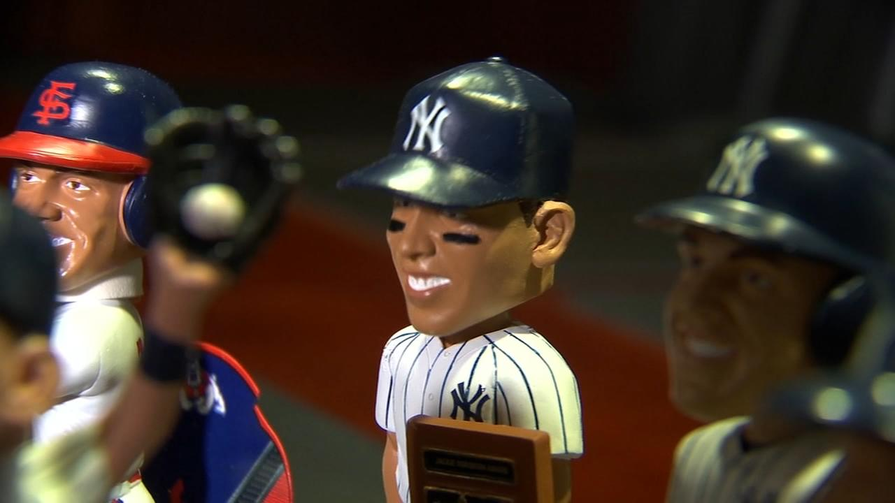 All rise: Aaron Judge bobbleheads head and shoulders above other sports stars