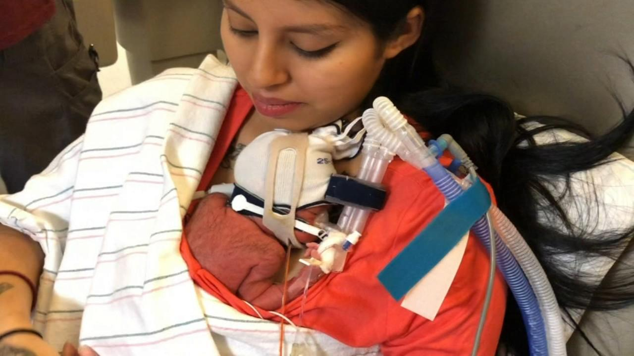 She wasnt expect to survive labor, now she is the mother to a healthy child
