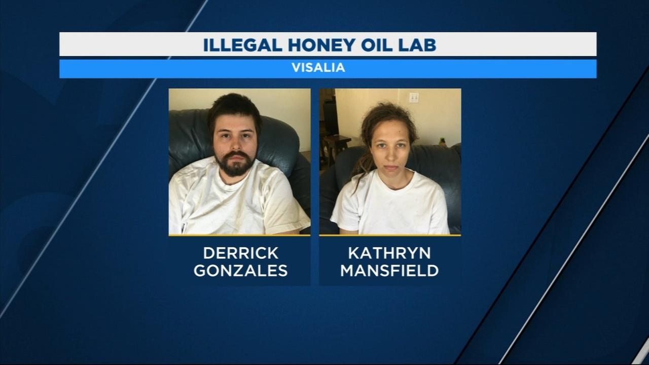Visalia Police arrest two in connection to honey oil lab