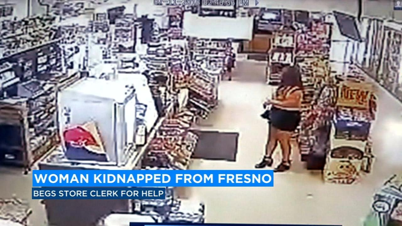 Gas station clerk saves woman from being kidnapped