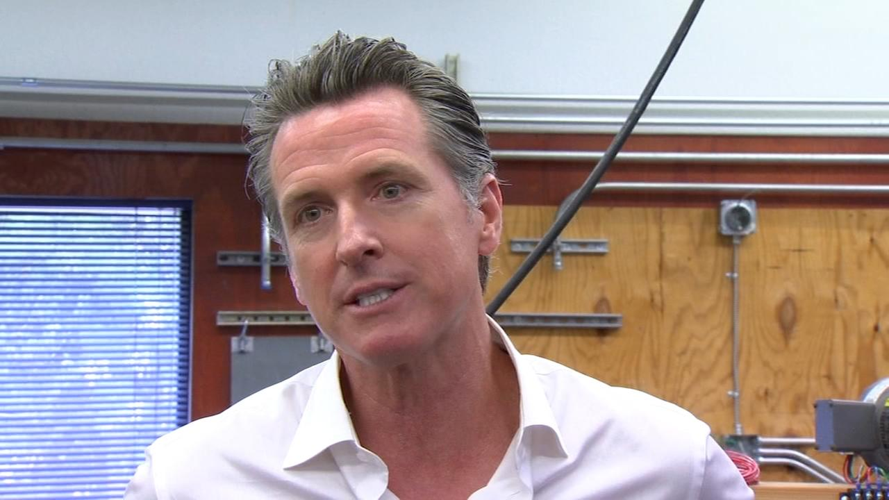 Gavin Newsom praises job training program in Fresno
