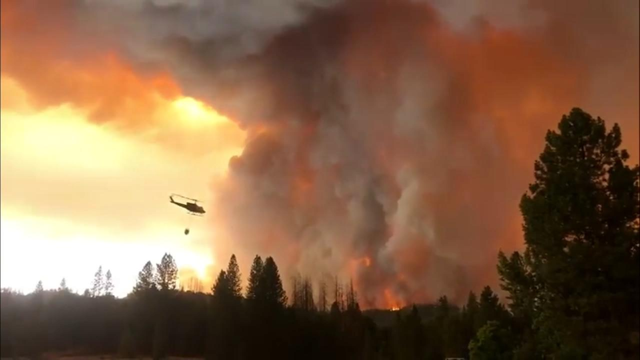 Ferguson Fire burns over 13,000 acres in Mariposa County