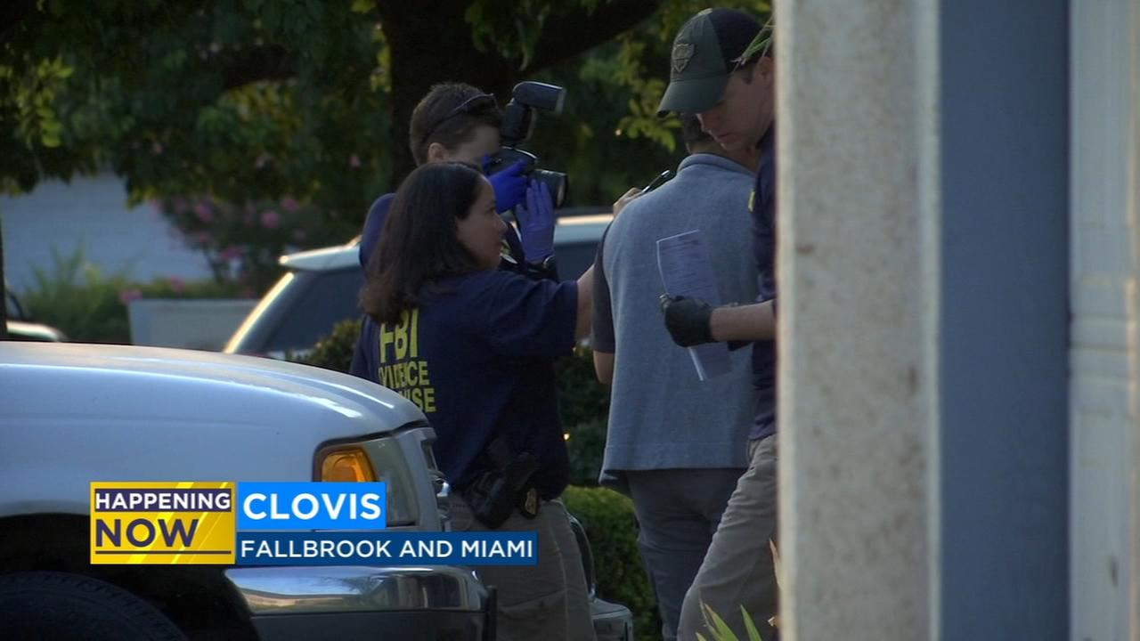 FBI raid Clovis home