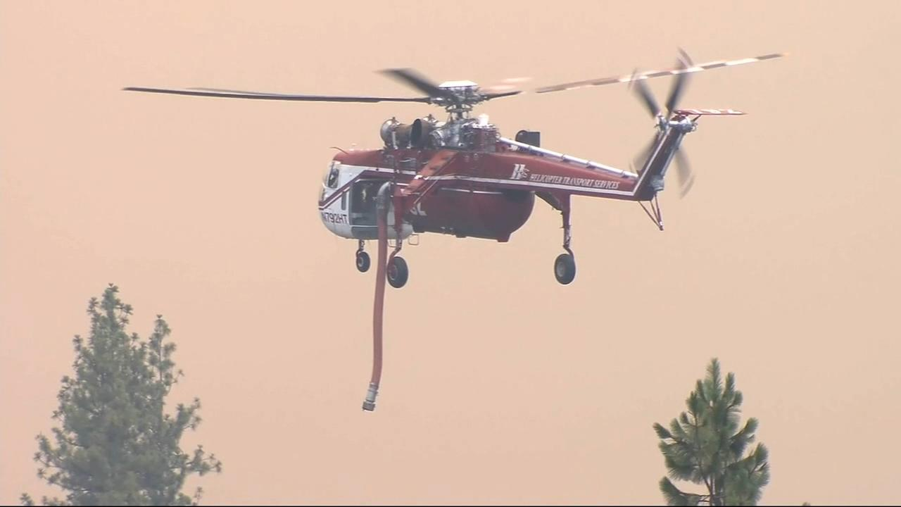 Ferguson Fire burns over 17,000 acres in Mariposa County