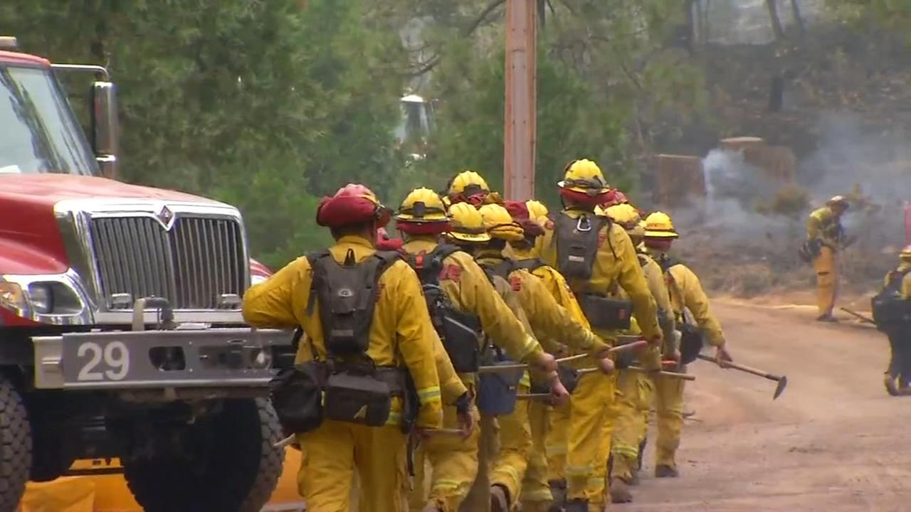 New mandatory evacuation order issued as Ferguson Fire continues to spread