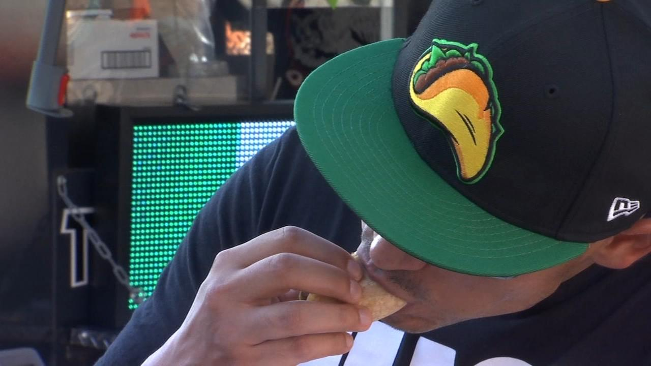 Thousands pack Chukchansi Park for 8th Annual Taco Truck Throwdown