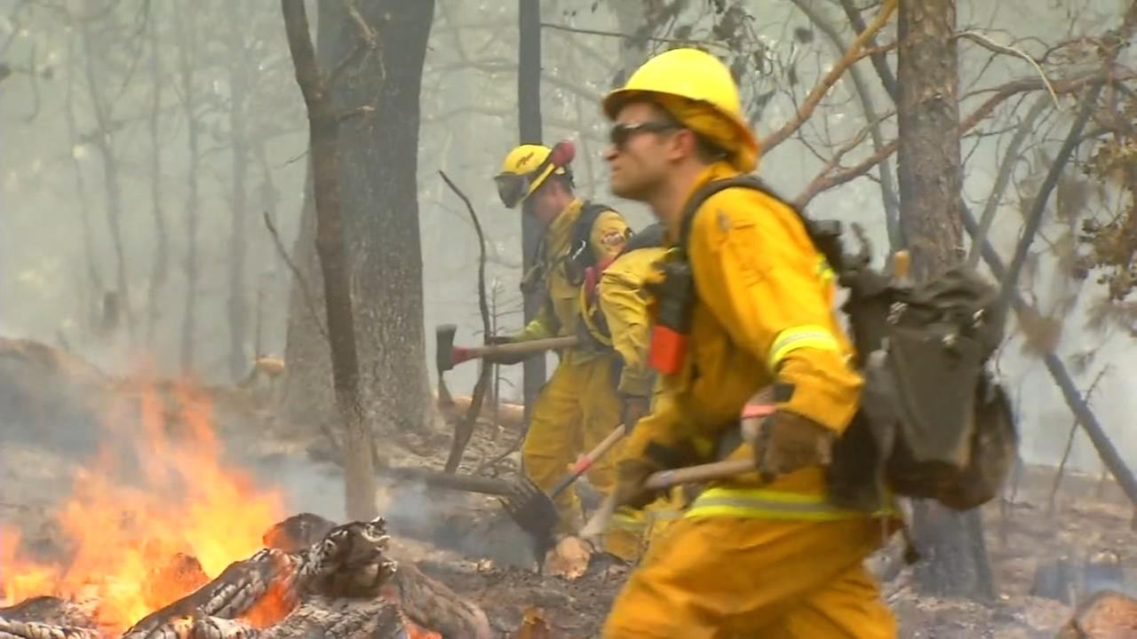 Ferguson Fire gets closer to Yosemite National Park