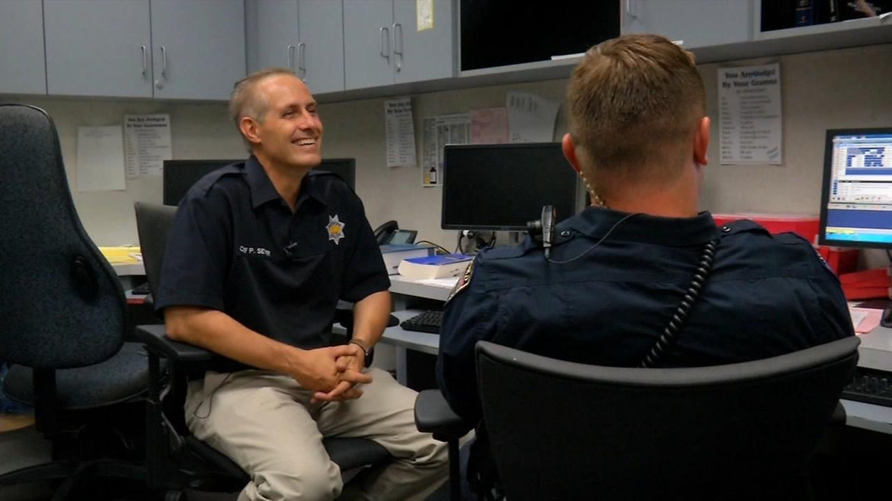 Hanford police chief works through colon cancer battle
