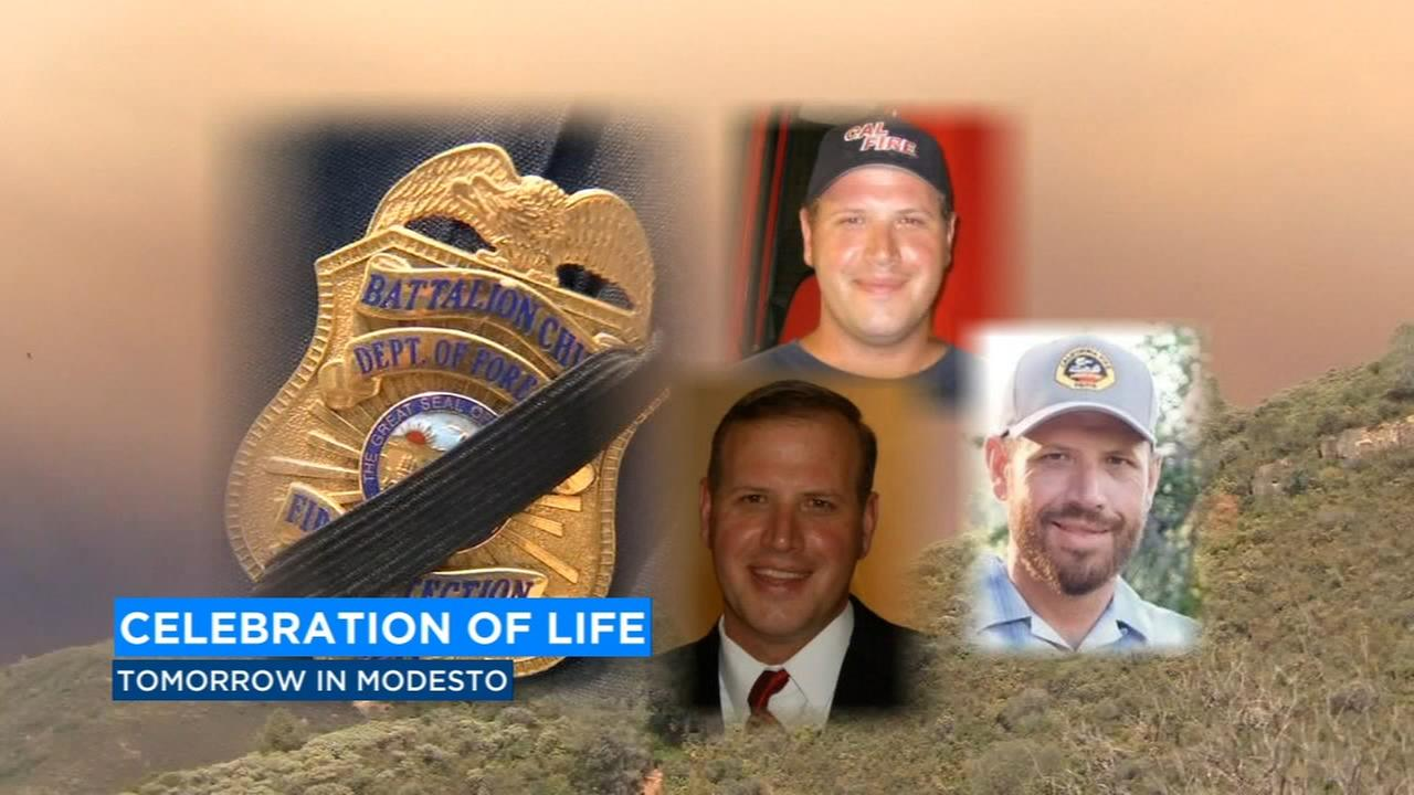 Celebration of life service to honor Cal Fire employee killed in Ferguson Fire