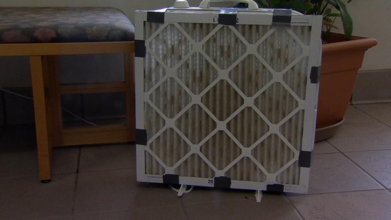 Build your own air filter to combat fire smoke from the Ferguson Fire