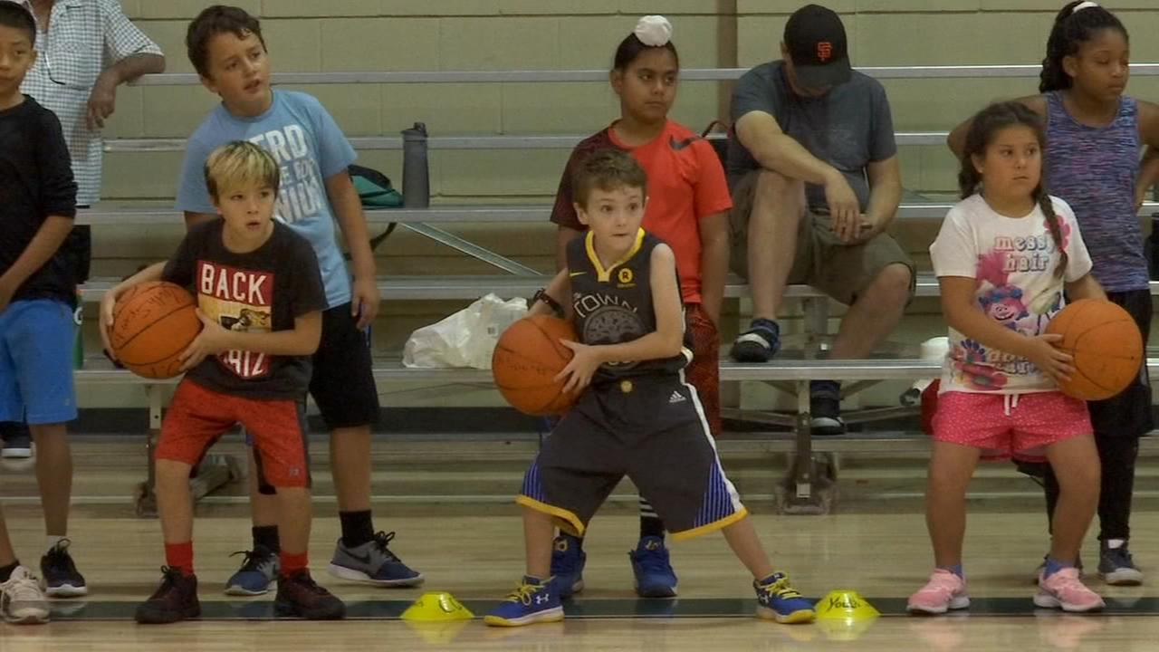 Basketball Camp at the Ted C. Wills community center