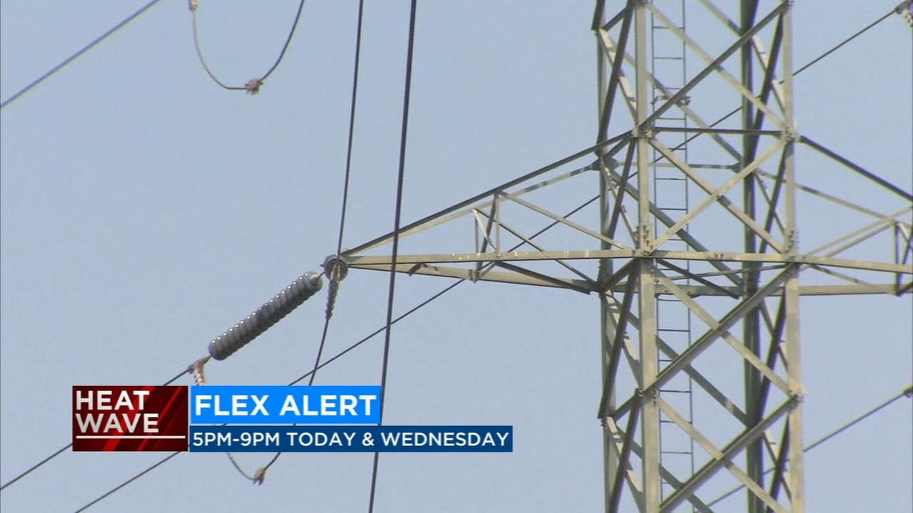 High temps have state officials issuing flex alert to help conserve power