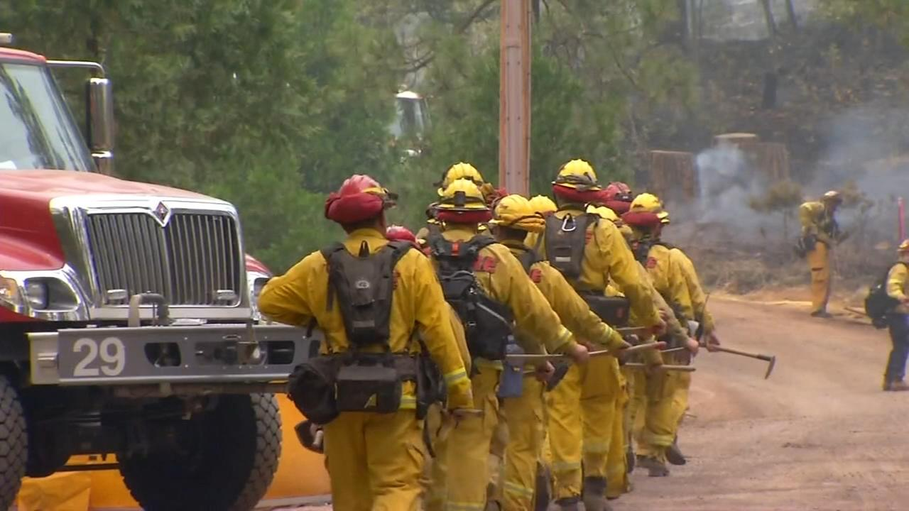 Ferguson Fire has burned 37,795 acres, now 26 percent contained