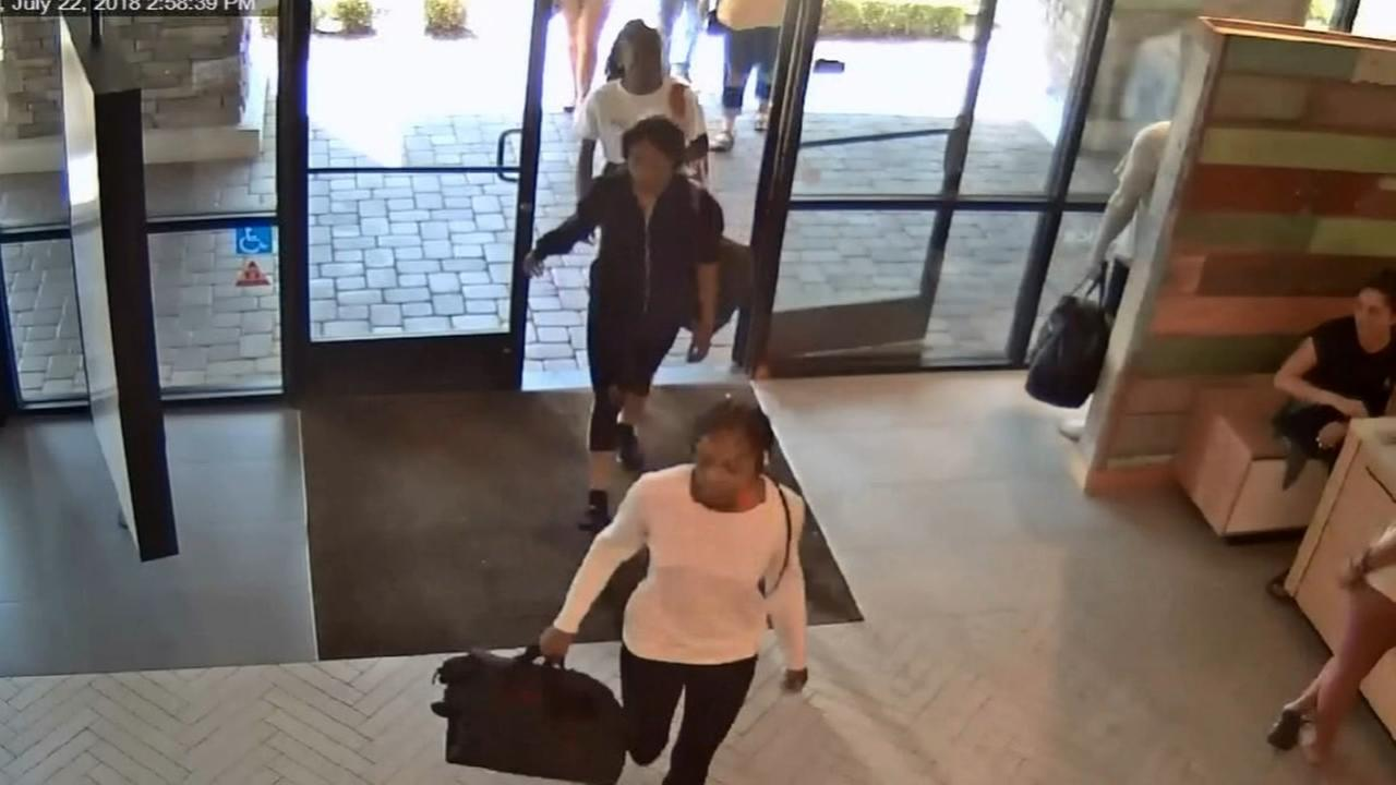 Dejà vu: Group of women return to Lululemon to steal again after burglarizing it earlier this week