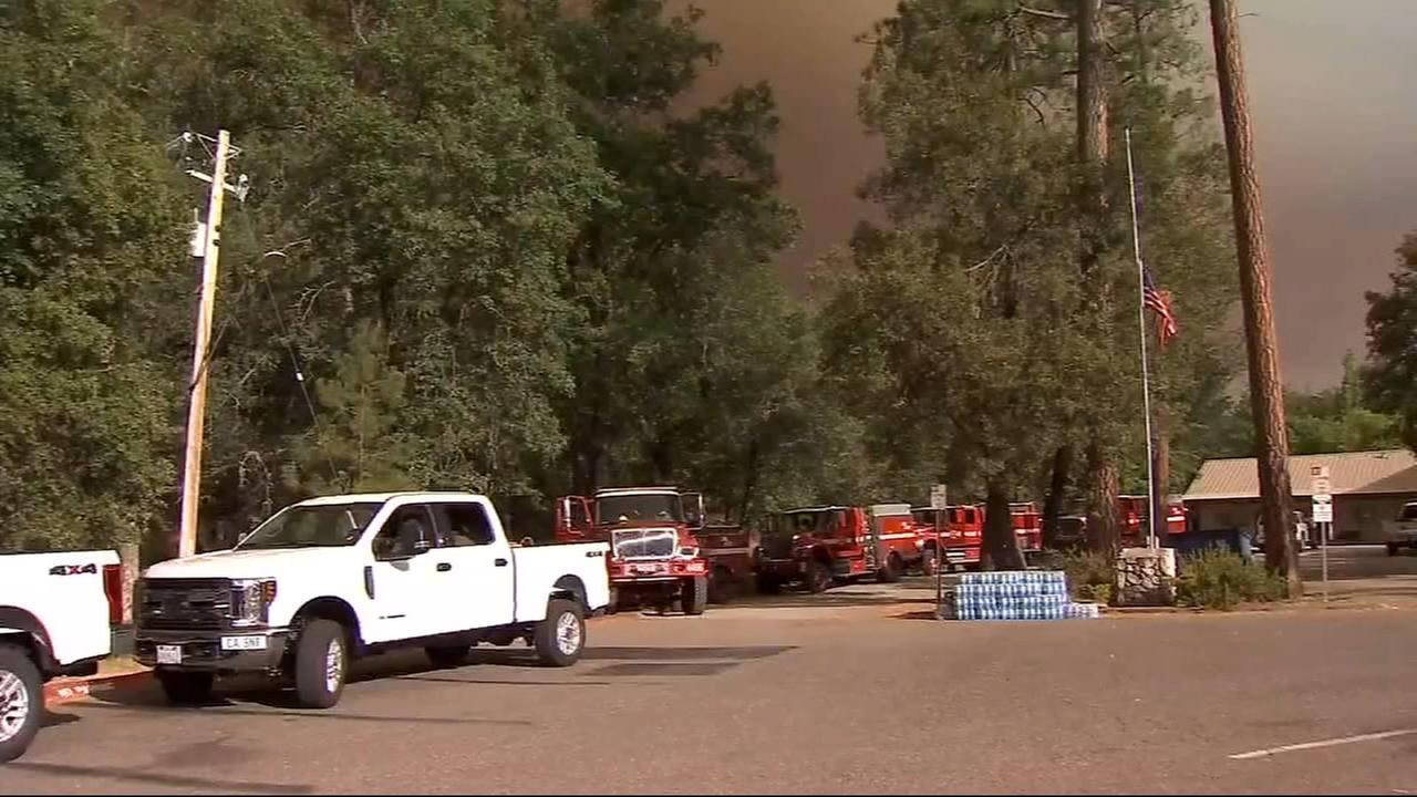 Parts of Yosemite National Park closed due to Ferguson Fire