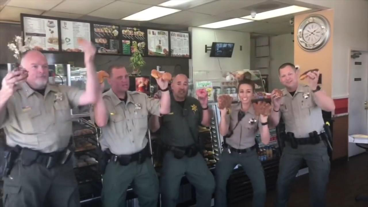 Madera County Sheriffs Office take on lip sync challenge