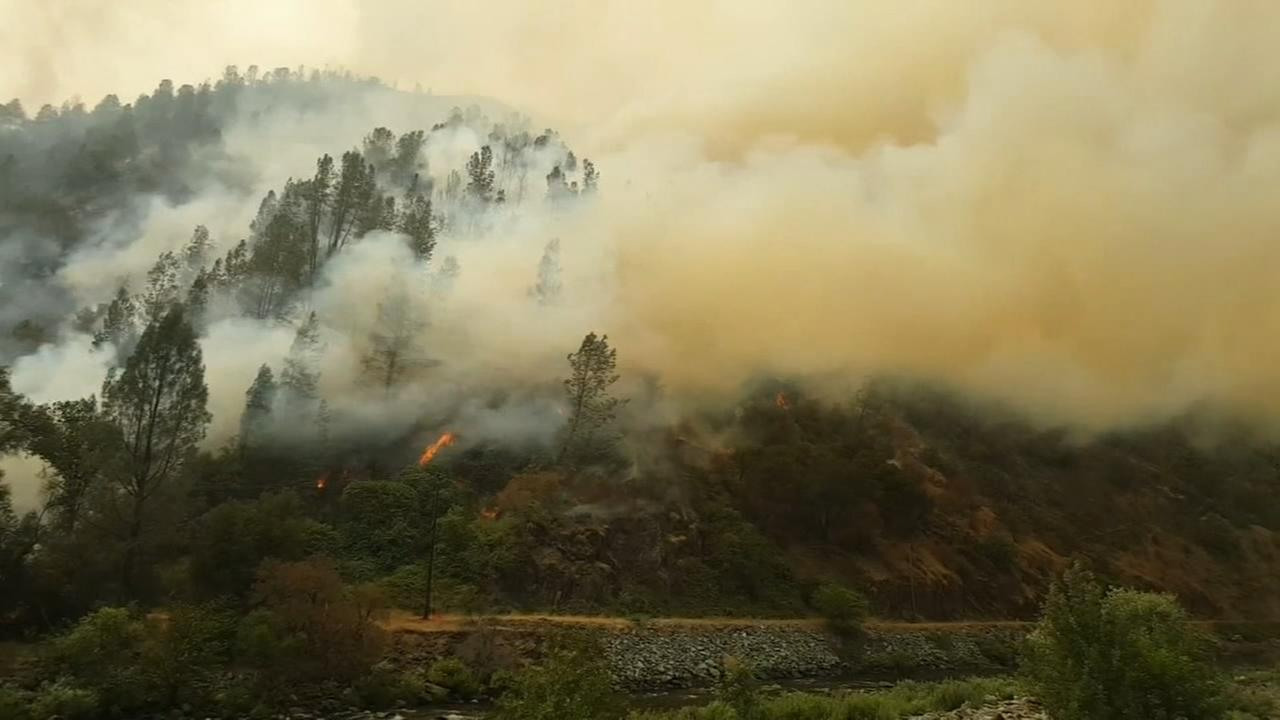 Ferguson Fire continues to grow, Yosemite National Park guests evacuated