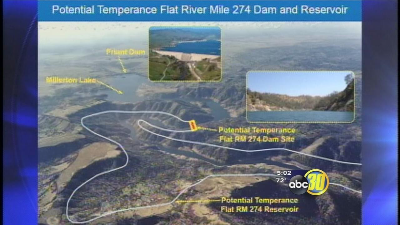 Temperance Flat Dam moves forward