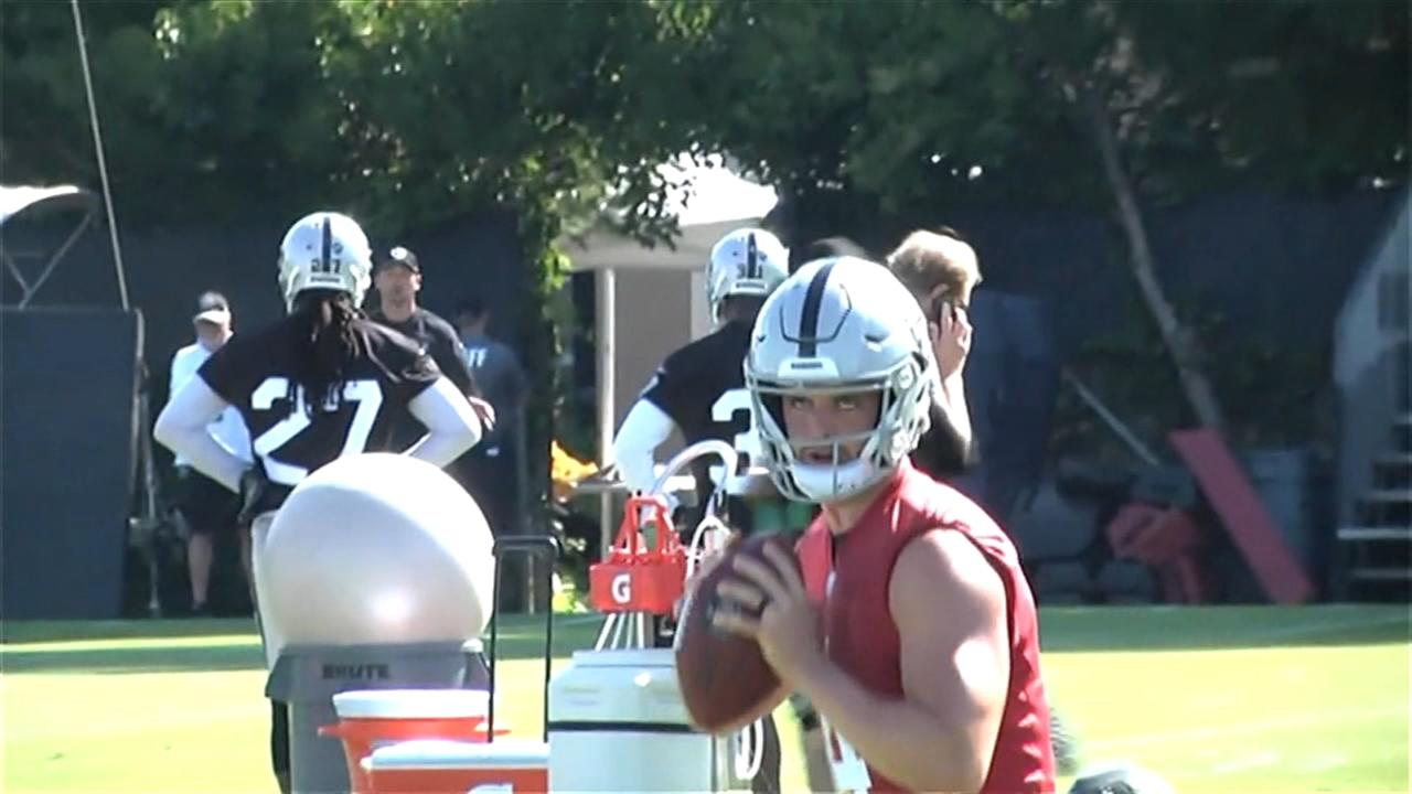 Judge to DL, Carr and Raiders begin training camp