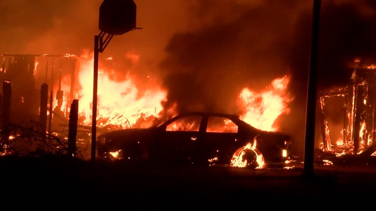 Carr Fire explodes over 48,000 acres, destroys 500 structures, continues to burn