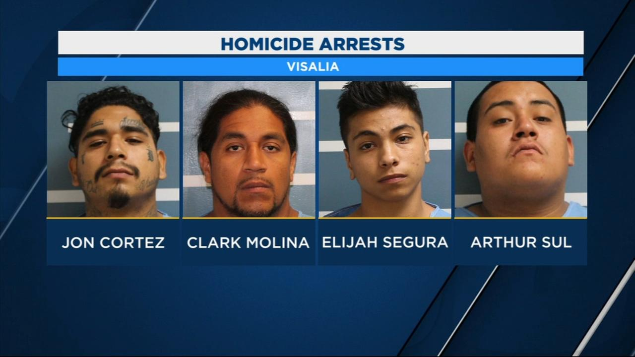 Visalia Police arrest several suspects in connection to deadly shooting