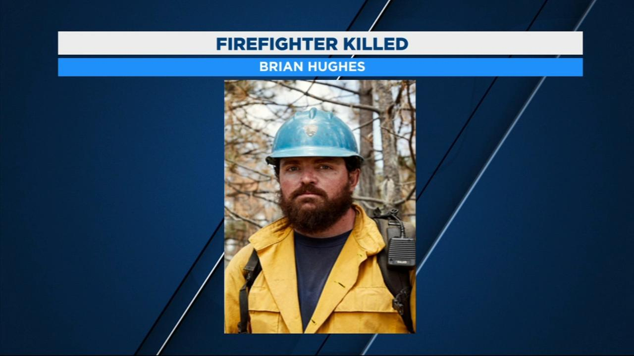 Firefighter struck by tree and killed while battling Ferguson Fire identified