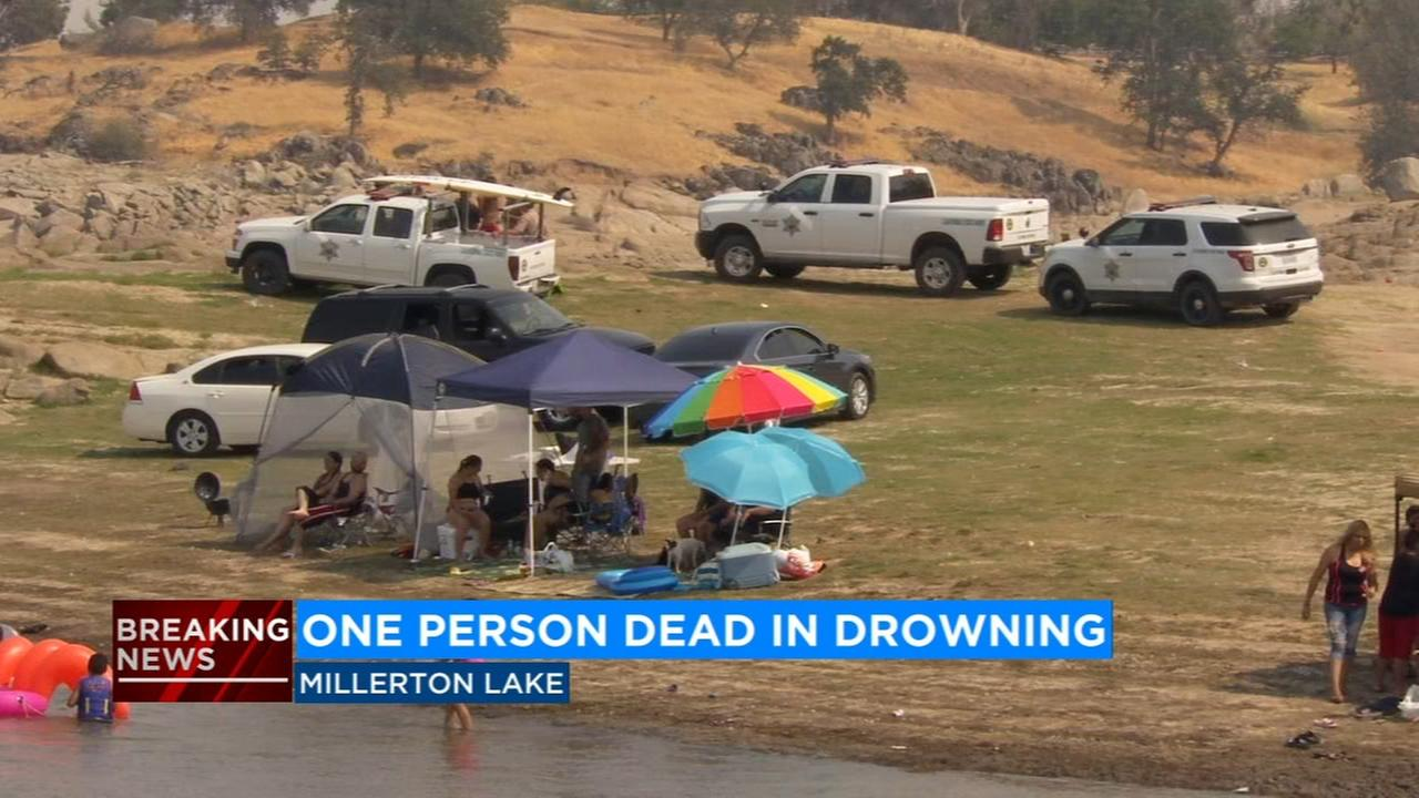 Man drowns in Millerton Lake, officials say