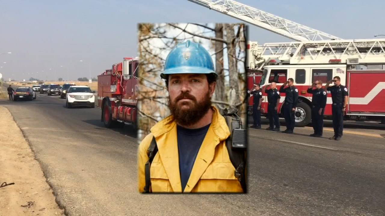 Firefighter struck by tree and killed while battling Ferguson Fire