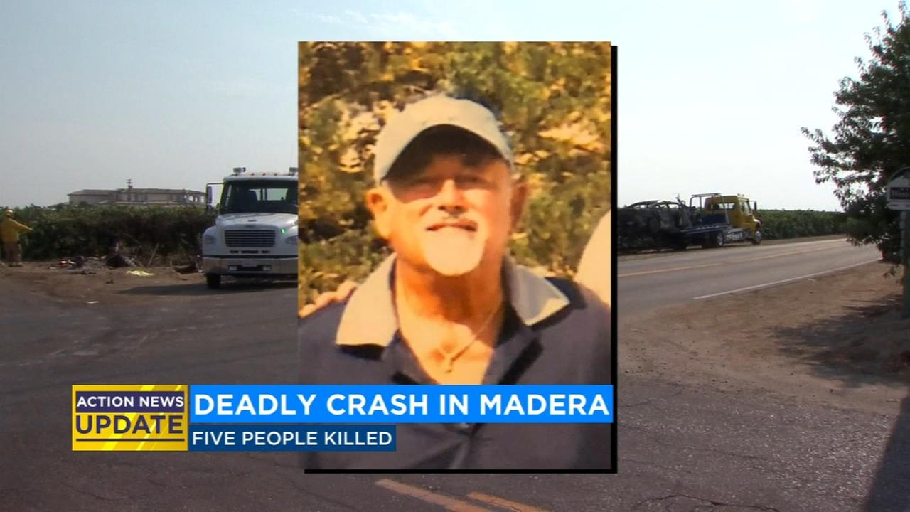 Police identify victim in fatal crash that killed 5 people
