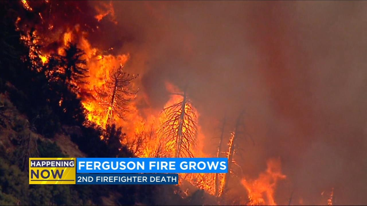 Crews continue to fight to keep Ferguson Fire away from Yosemite and populated areas