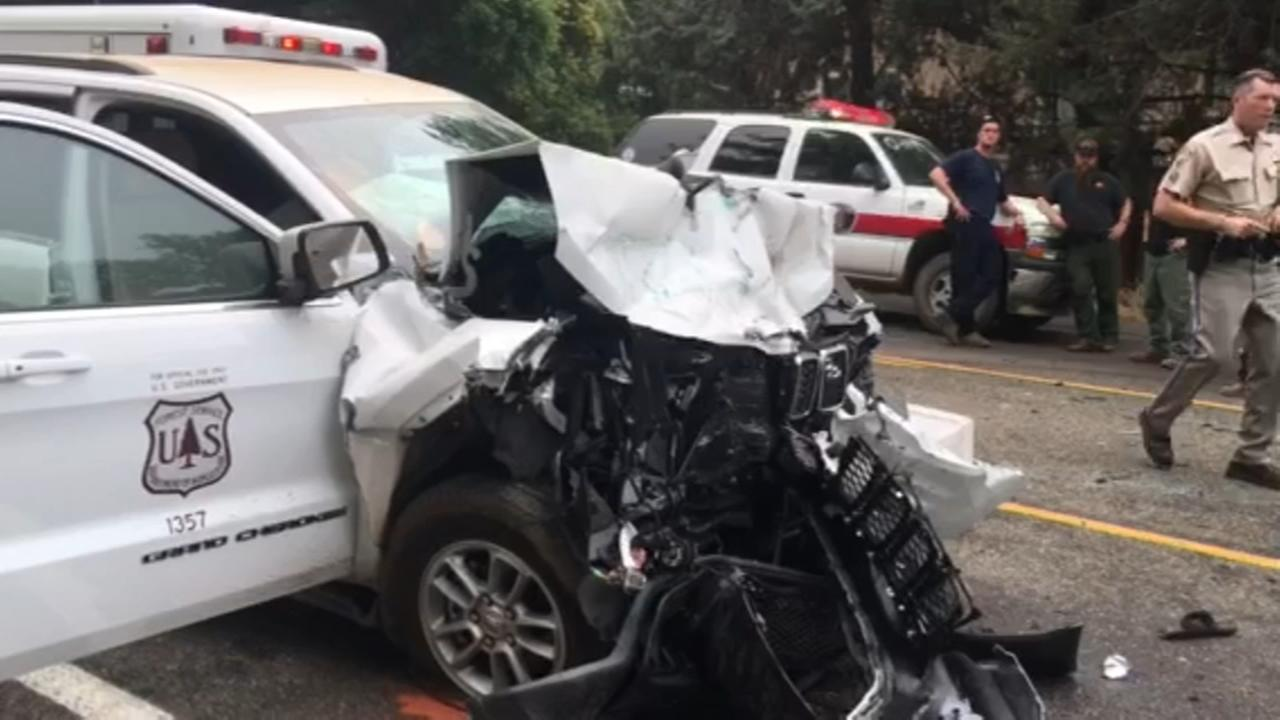 Man killed in accident involving US forest vehicle near Ahwahnee