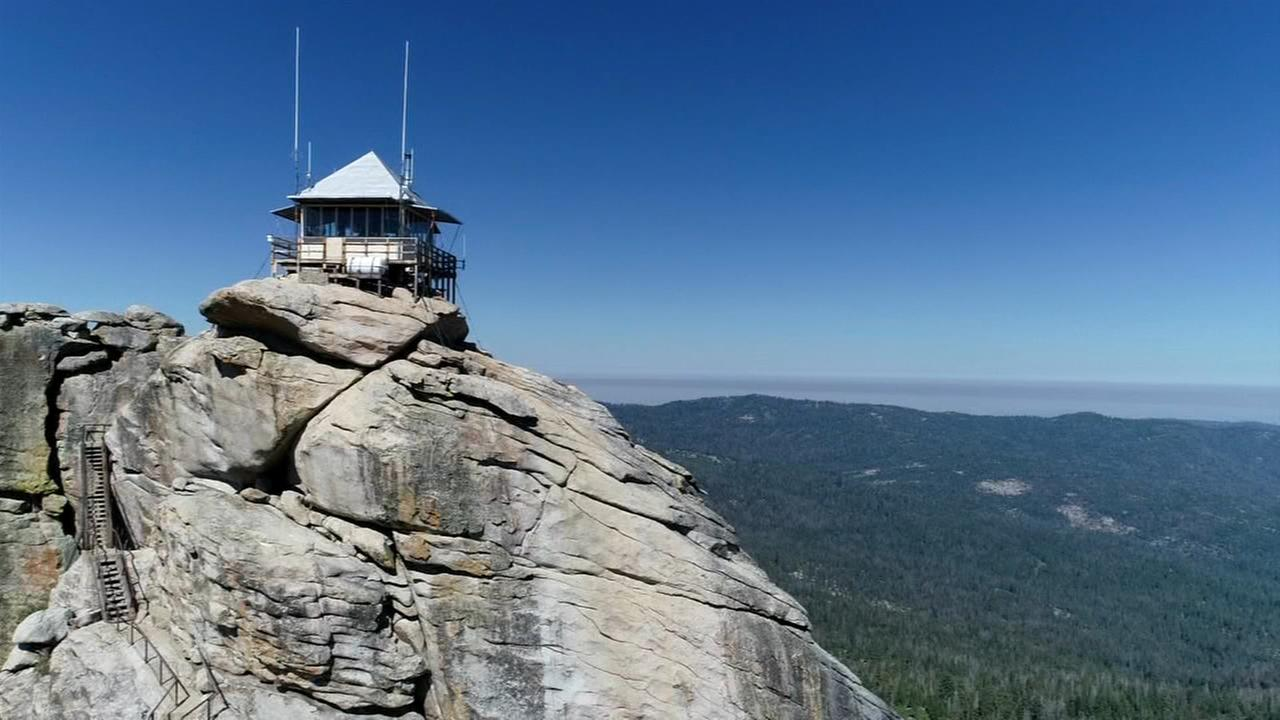 Buck Rock Fire Lookout helped discover Rough Fire that nearly destroyed historic structure