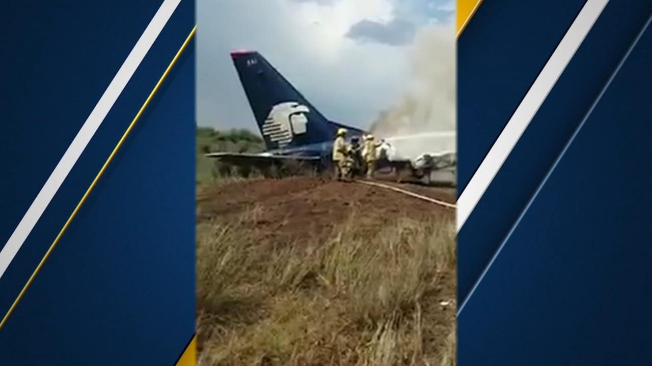 No deaths after Aeromexico plane crash, says governor