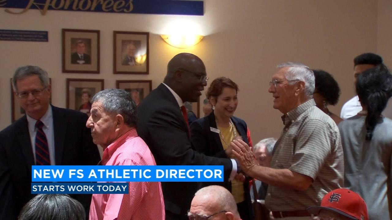Day one for Fresno States new Athletic Director
