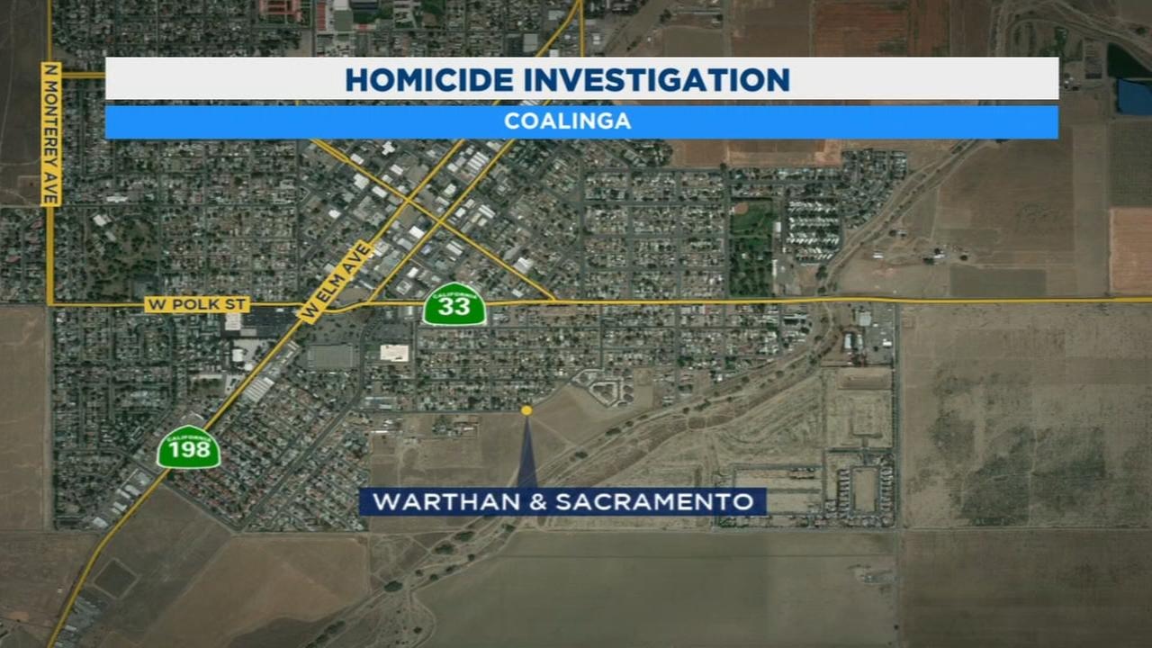Authorities investigate first homicide in Coalinga in 6 years