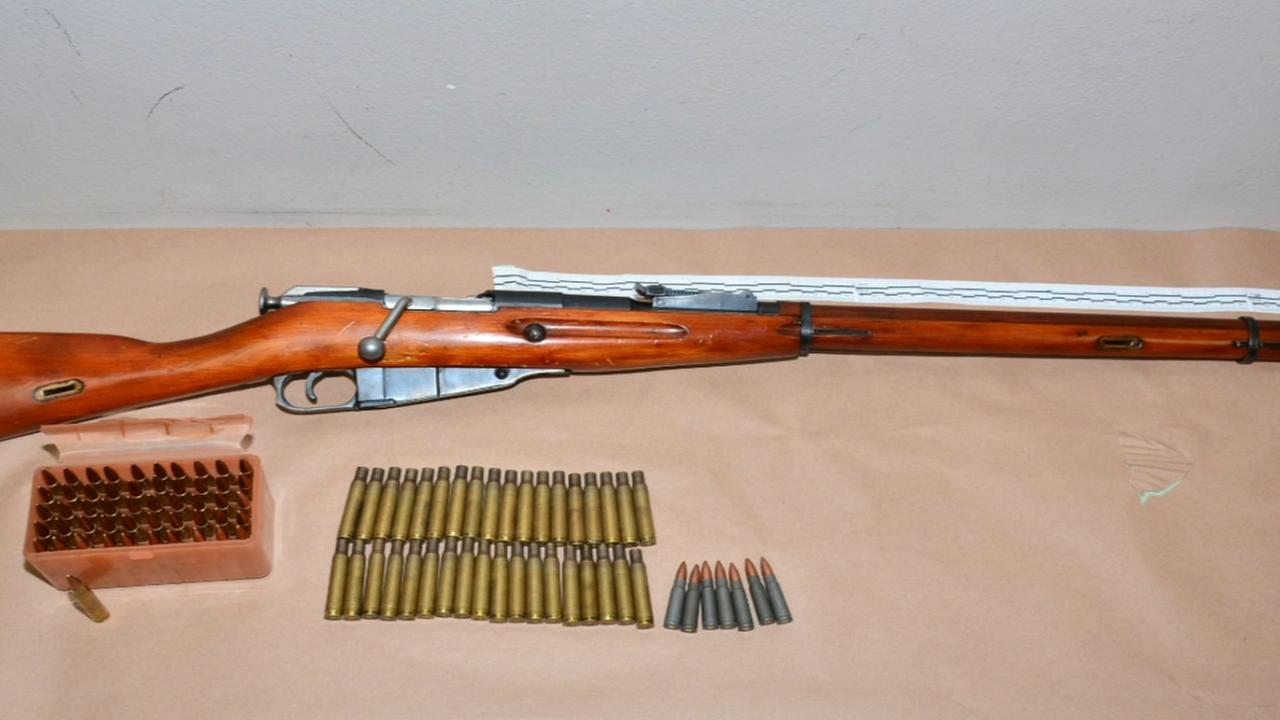 Man arrested in Fresno for possession of drugs and high-powered Russian military rifle