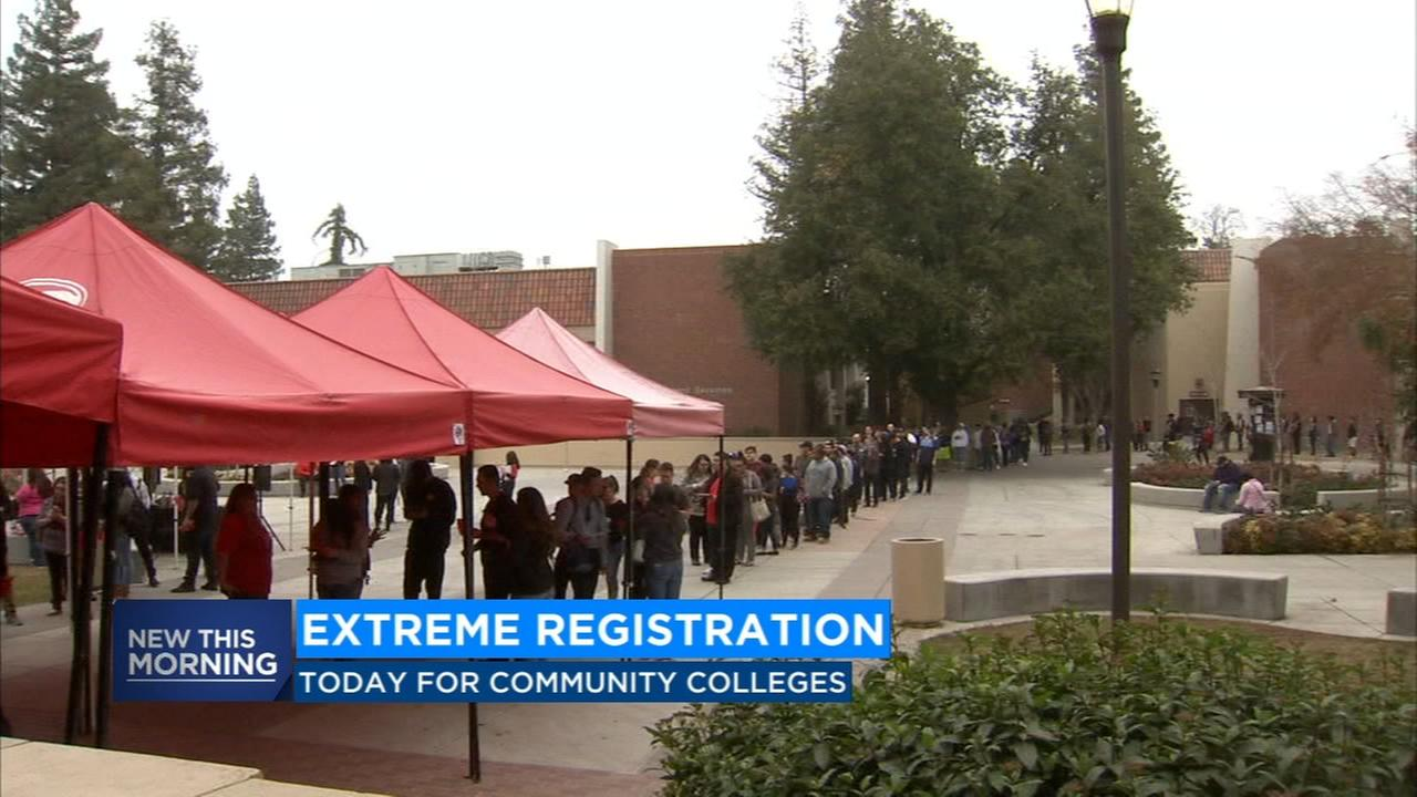 Extreme Registration starts for students looking to enroll in community college