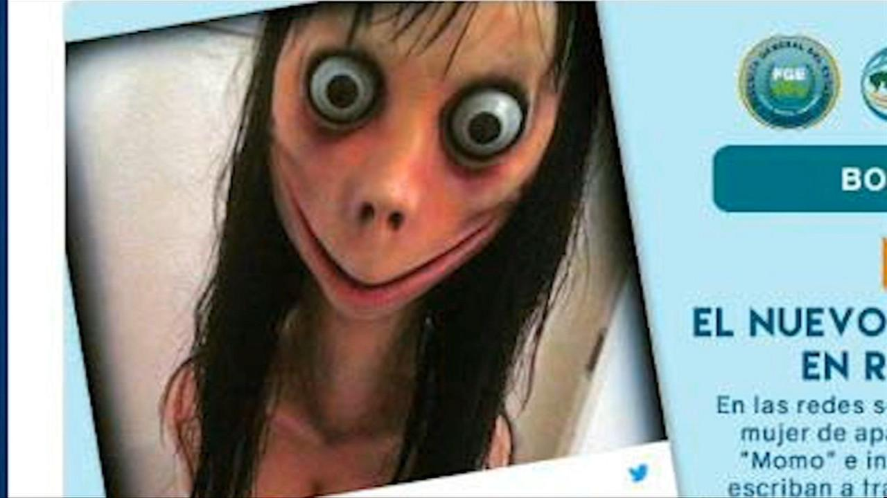 Police warning parents about Momo Challenge that may encourage suicide