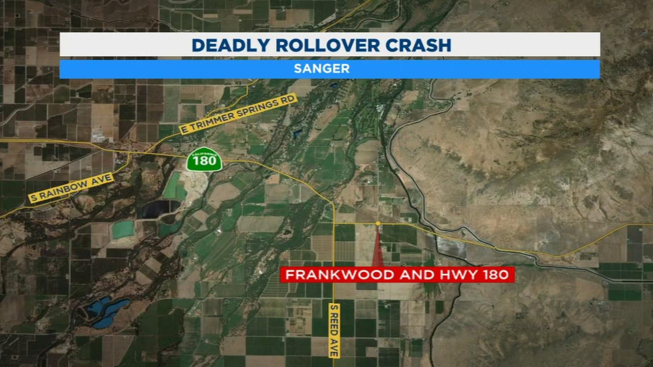 Man killed in rollover crash in Sanger