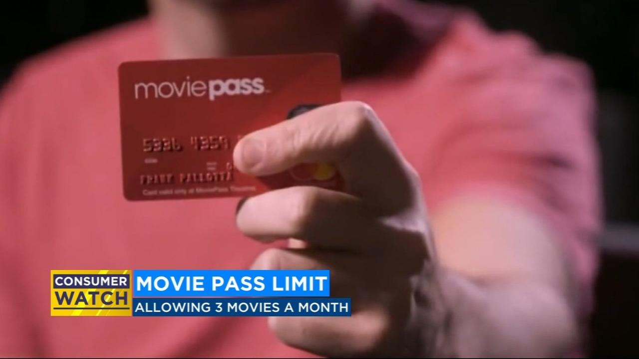 MoviePass changes to 3 movie per month from once a day, price stays the same
