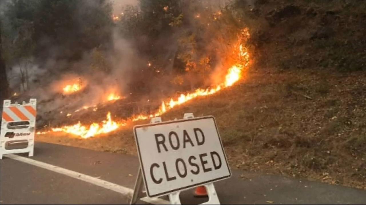 Several parts of Yosemite Natioanl Park remain closed to visitors