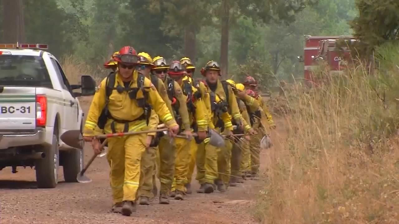 Wawona residents allowed back into their homes, Ferguson Fire 91,000 acres burned