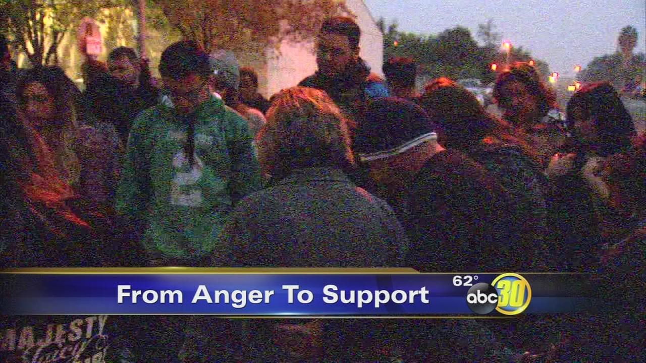 Family of boy killed in hit-and-run gather to pray for investigators