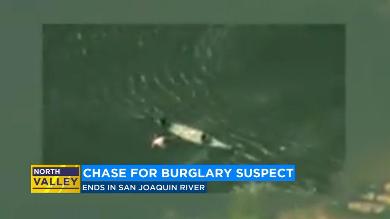 Burglary suspect tries to escape in canoe on San Joaquin river, deputies say