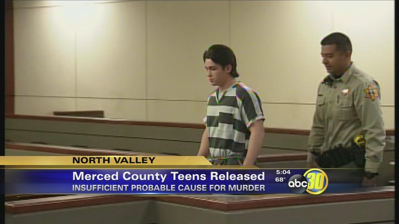 Merced Co. DAs son, other teen released due to insufficient probable cause for murder