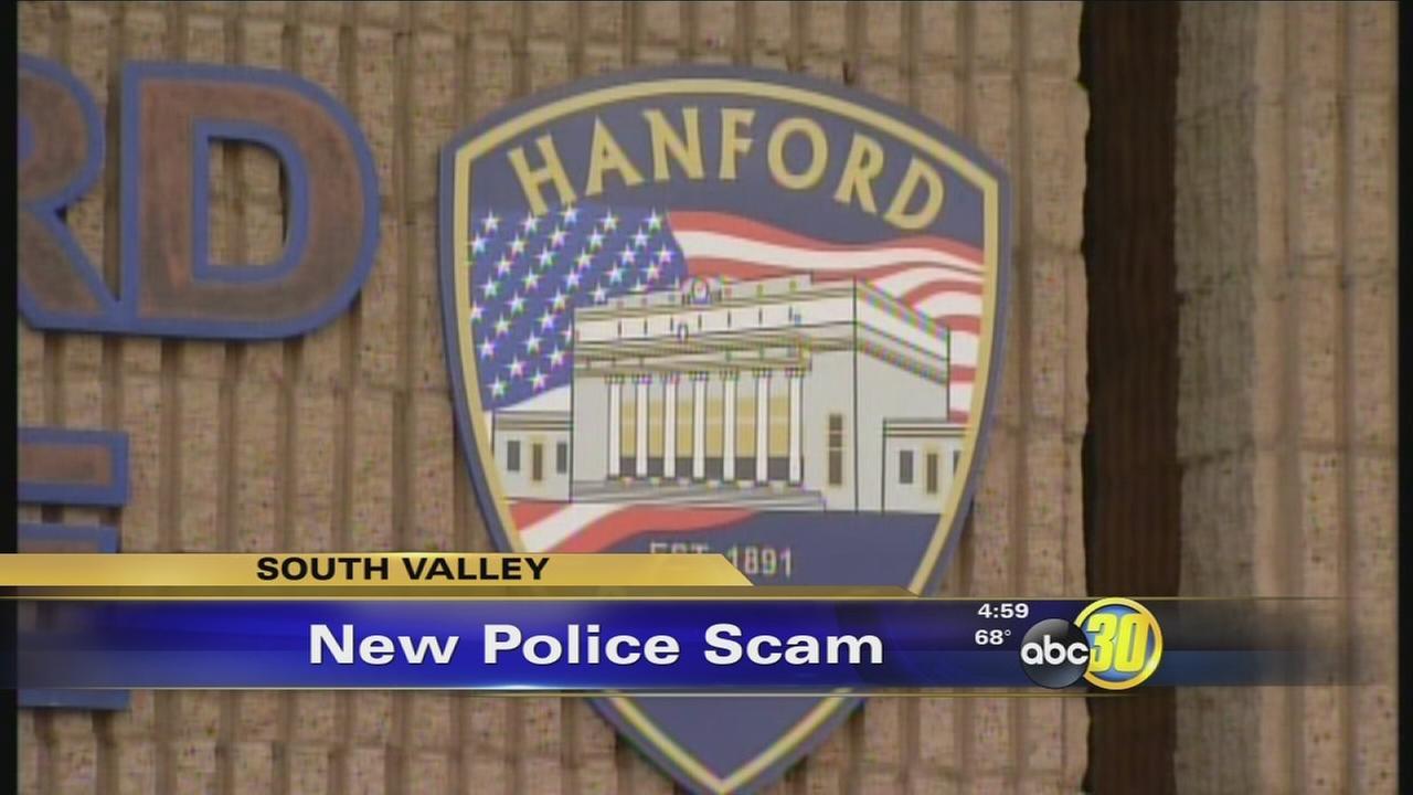 hanford police scam